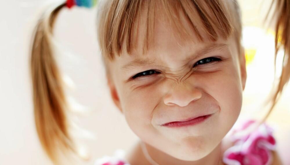 SØT?: Mennesker er tiltrukket av de spesielle ansiktstrekkene babyer har, som stort hode, rundt ansikt og store øyne. Derfor synes vi en nyfødt baby er søtere enn en 4-åring.