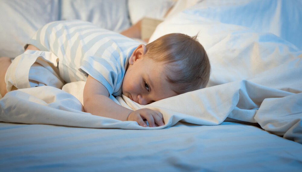 FÅ BABY TIL Å SOVE: Babyer som er redde for å sove, som gråter eller våkner er et anerkjent problem for foreldre. Det finnes imidlertid råd. Foto: Gettyimages.com.