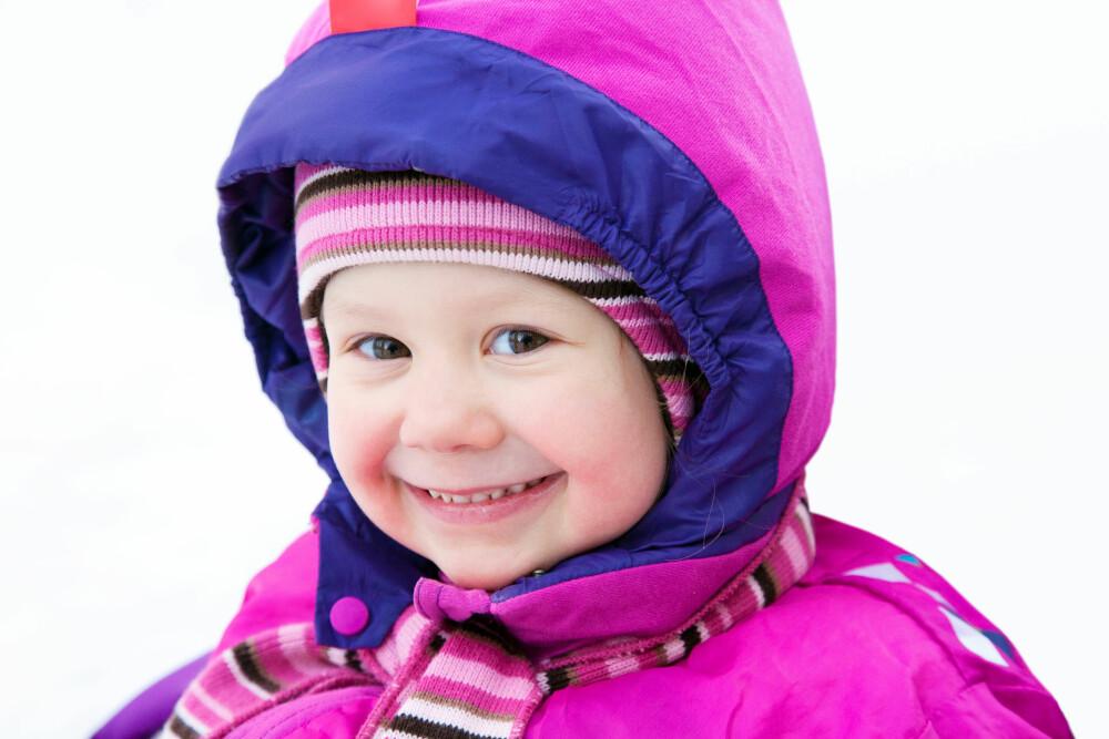 TIDLIG UTE:  Ta med barna ut i skog og mark så tidlig som mulig.