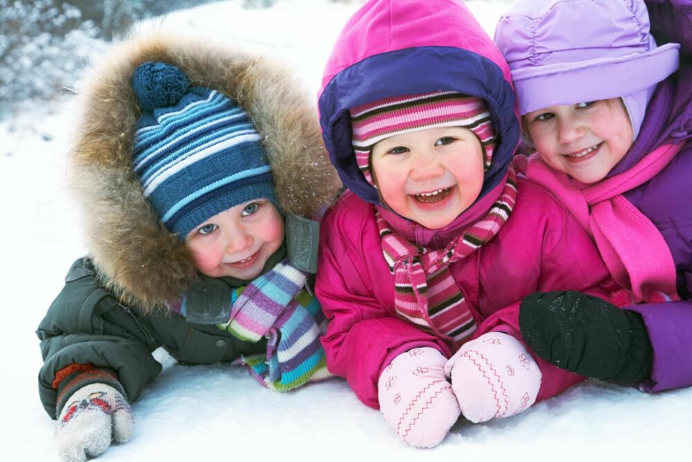 EKSTRA SELSKAP: Det kan være en god ide at barna får ha med seg venner på tur.