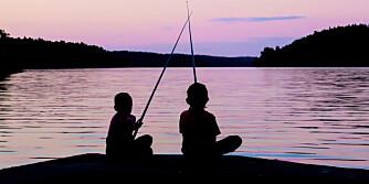 EKSTRA SELSKAP: Det kan være en god ide at barna får ha med seg venner på tur. ILLUSTRASJONSFOTO: Colourbox