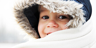 VARM OG GOD: På tur er det ikke noe moro å fryse. Det gjelder både barn og voksne. ILLUSTRASJONSFOTO: Colourbox