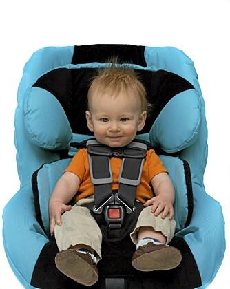 LITEN PLASS: Mange foreldre snur setet fordi bilen er for liten.