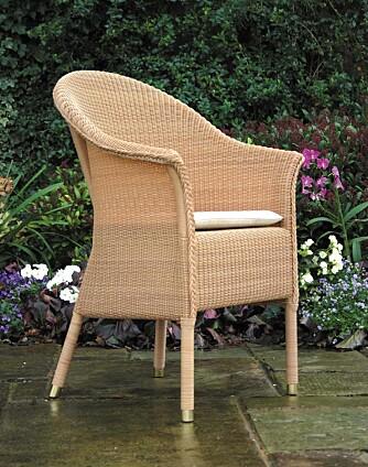 LANGE TRADISJONER: Den engelske fabrikken Lloyd Loom of Spalding har produsent Loom-møbler i over 85 år.