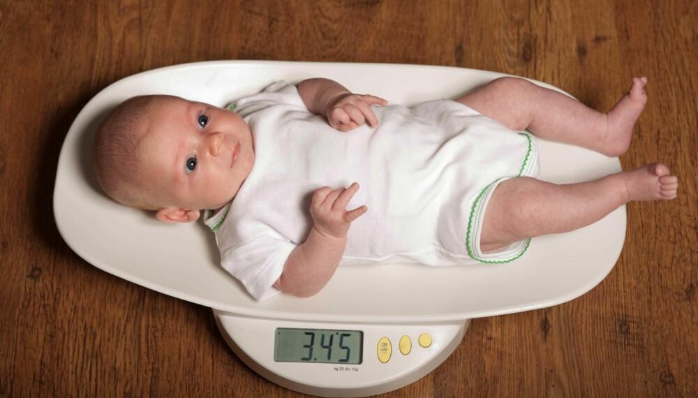SEKSUKERSKONTROLL: Både mor og barn skal på kontroll hos lege seks uker etter fødselen. Foto: Gettyimages.com
