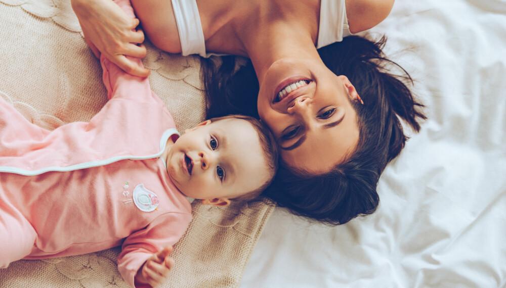 NED I VEKT ETTER FØDSEL: Du bør ha en moderat vektnedgang så lenge du ammer, hvis ikke kan det gå utover babyen.