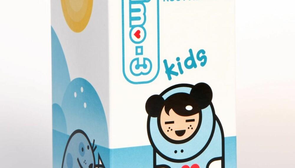OMEGA-3 KIDS: flytende tilskudd av omega-3-fettsyrer.