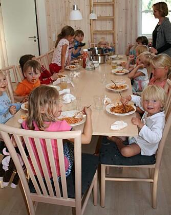 FERIEHUS I DANMARK: 15 barn og 12 voksne leide i fjor et stort sommerhus sammen i Marielyst på Lolland. Foto: Foto: Privat Foto: Foto: Privat