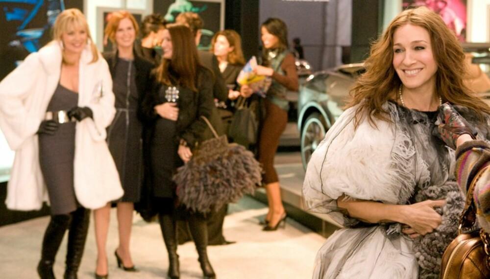 UNG I BOKFORM: Sarah Jessica Parker har gitt liv til rollefiguren Carrie Bradshaw.  Nå kommer boken om Carries ungdomstid.