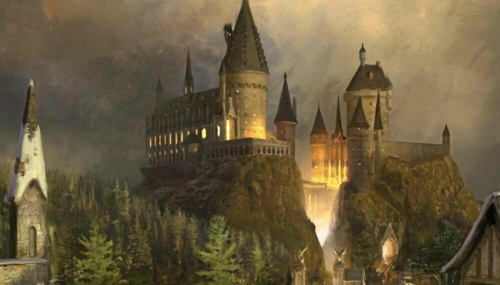 POTTERS VERDEN: I USA bygges det nå en Harry Potter fornøyelsespark.