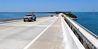 US1: Bilturen ut til Key West er for mange den største opplevelsen når man kjører US1 fra sørspissen av Floridas fastland og ut til Key West.
