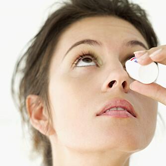 KAN GI VARIGE SKADER: Clear Eyes kan hos noen personer medføre en trykkstigning inne i selve øyet, og i verstefall føre til varige skader på synet.