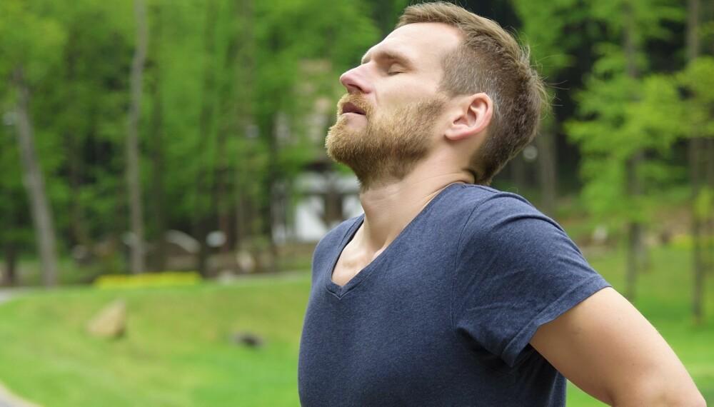 KOLS: Tung pust kan være et tidlig tegn på KOLS. Har du noen av symptomene KOLS, bør du sjekke lungekapasiteten din hos legen.