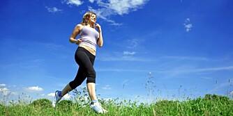 TREN DEG GLAD: Fysisk aktivitet hjelper mot depresjon