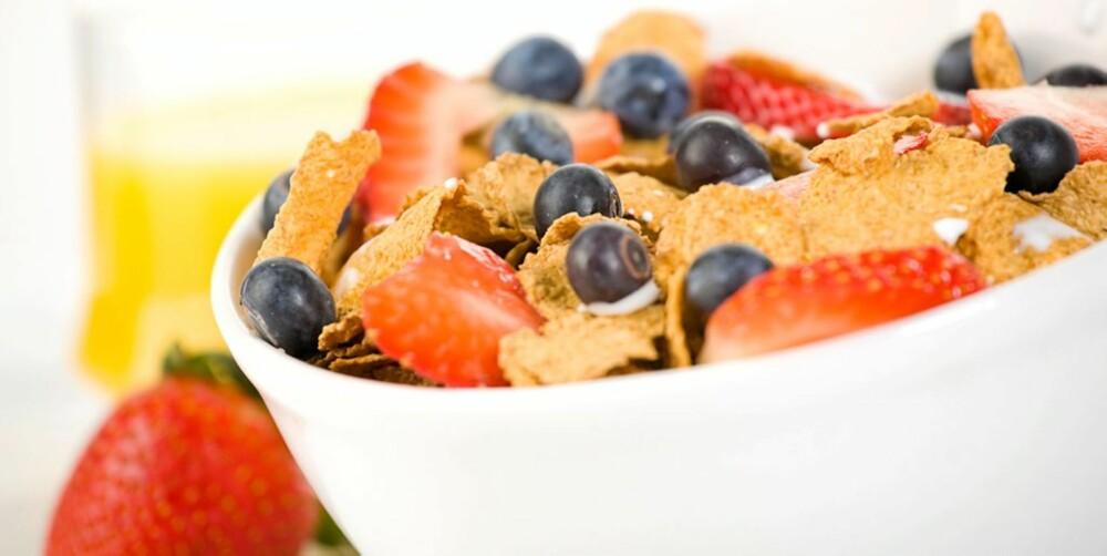 SPIS OFTE: Mange små måltider sikrer jevnt blodsukker