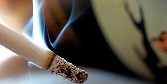 Røyk. Sigarett. Lungekreft