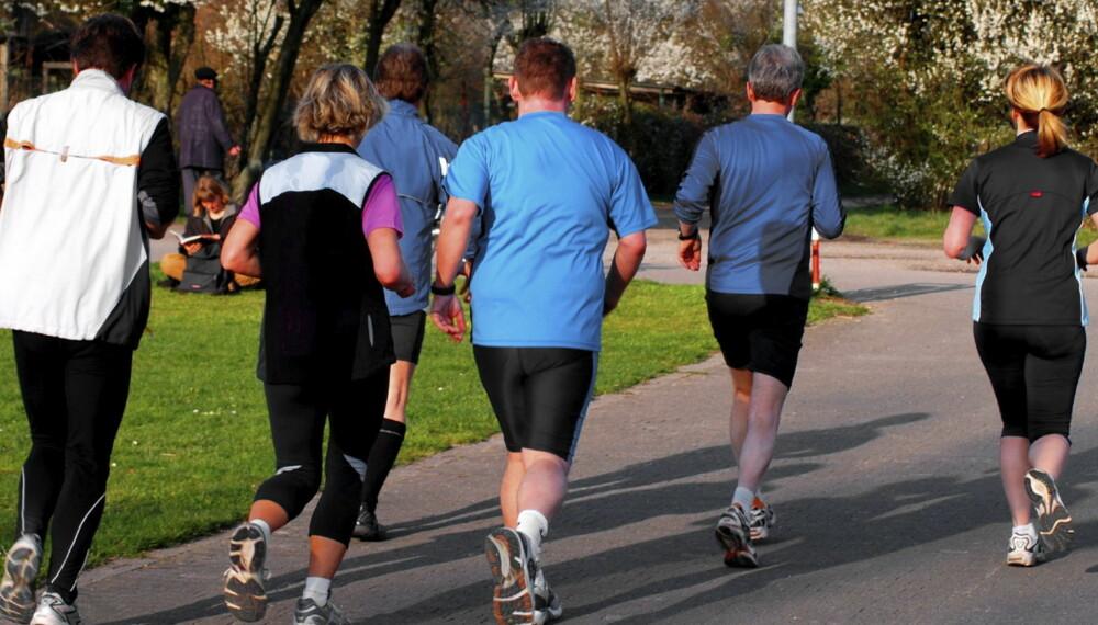 TRENING HJELPER: kondisjonstrening på minst 30 minutter kan øke det gode kolesterolet.