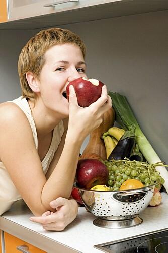 ENKEL OPPSKRIFT: Spiser du sunt, blir kroppen glad.