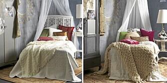 Ganske utrolig at det skiller 45 000 kroner på disse to soverommene.