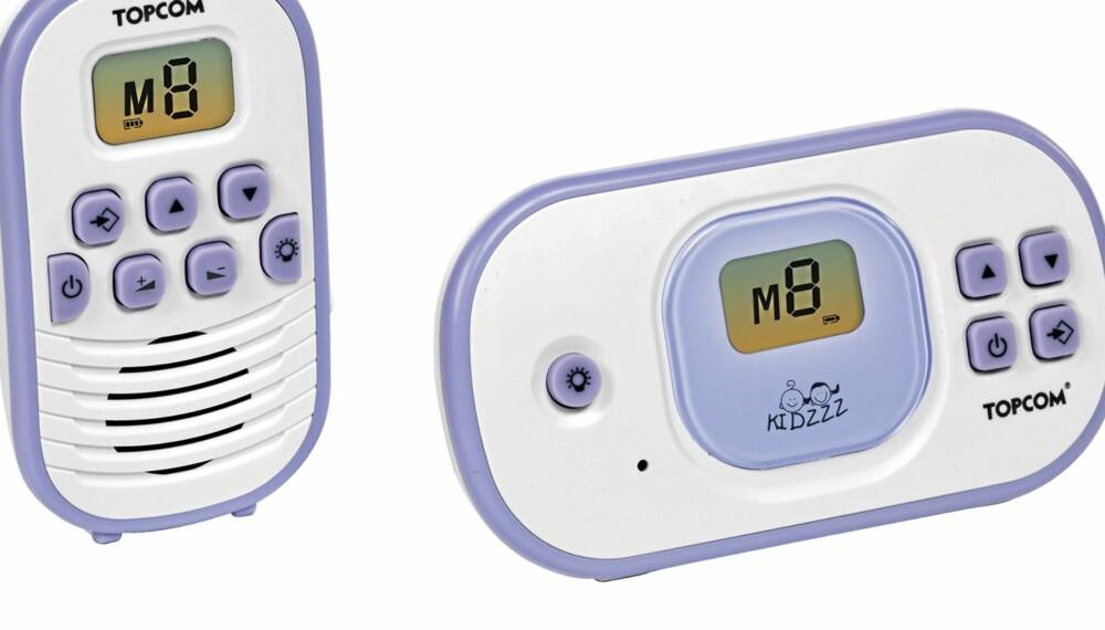 TopCom Babytalker 1020:  Denne modellen har utmerket bilde og bra lyd.