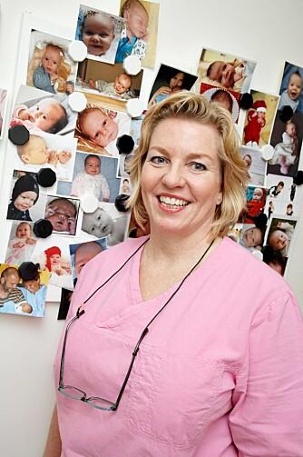 MER TID: Jordmor og akupunktør Lena Mille Milling opplever at hun får brukt hele sin faglige bakgrunn som privatpraktiserende.