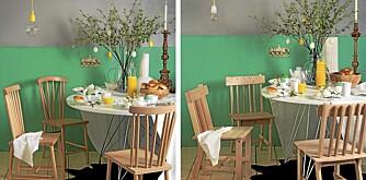 Dyrt og billig: kjøkkenkrok til påske.