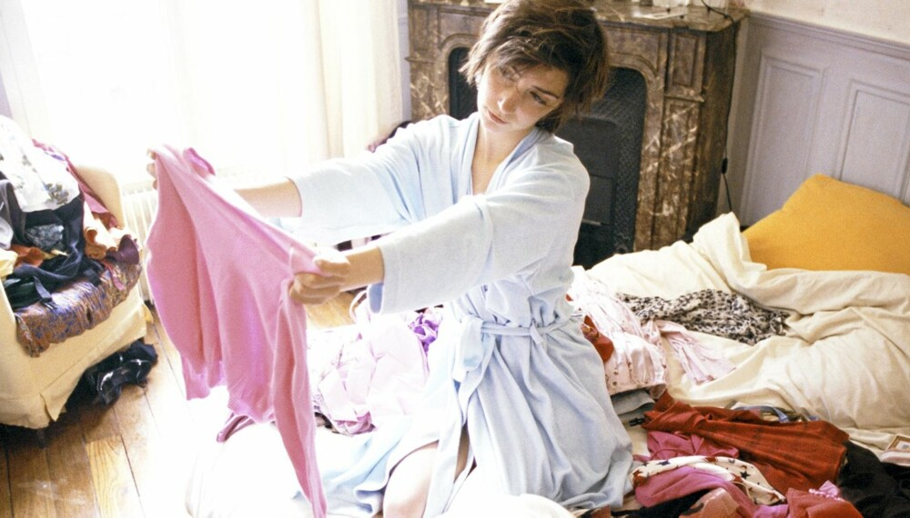 KLESMONSTERET: I mange hjem kan klær være det store monsteret som tar over boligen. Du har kanskje selv bukser i stuen, underbukse på badet og skjorter liggende å slenge?