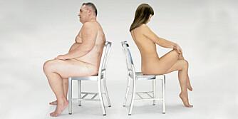 SOLID, MEN KALD: Navy Chair finnes i børstet og polert utgave. De er like robuste, og like kalde for nakne rumper.
