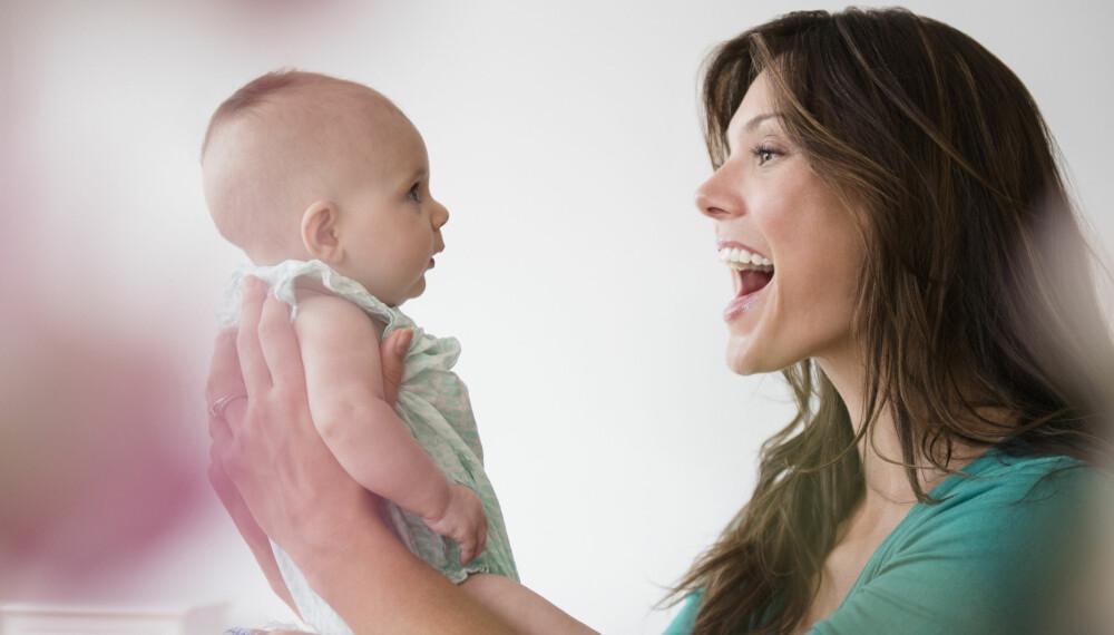 BABYSPRÅK: Slik tolker du forskjellige babylyder og babyspråk fra babyen din.