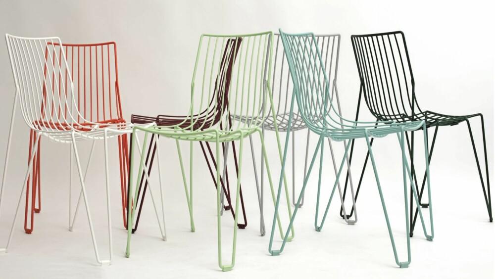 PLASTKLEDD WIRE: Tio Chair fra Massproductions koster kr 2250 og føres av Euklides.