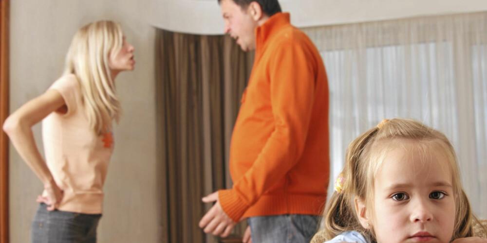 GJØR DET RIKTIG: Håndterer du krangelen riktig, kan barna lære at uenigheter kan løses på en konstruktiv måte.