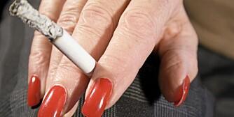RØKER FORAN GRAVIDE: KAN gravide kreve at folk i røyker i nærheten av dem?