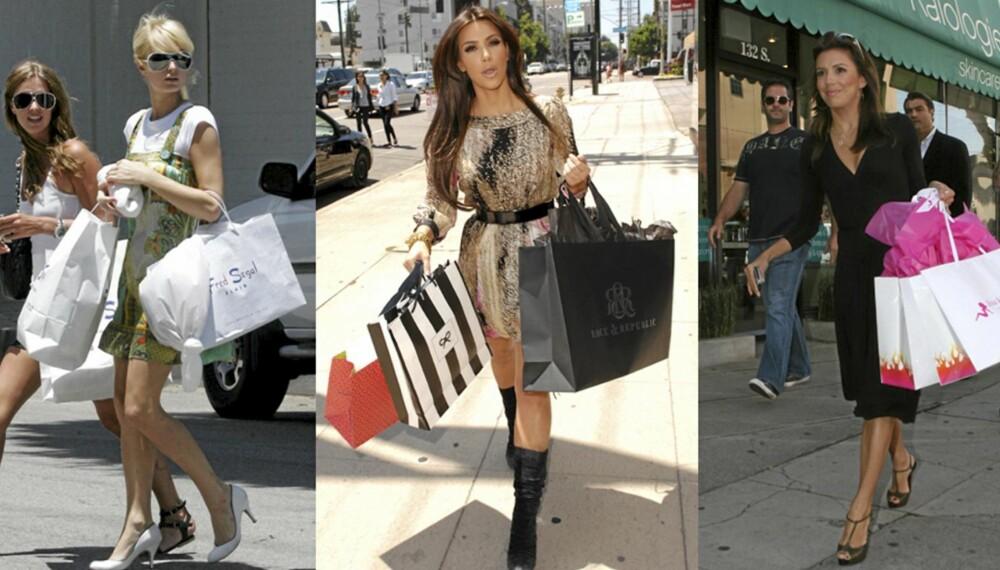 SHOPPING: Kvinner shopper mer utfordrende plagg under eggløsning enn ellers i måneden.