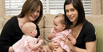 VENNINNEDRAMA: Kan venner og familie kalle barna sine det samme?