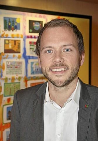 Barne-, likestillings- og inkluderingsminister Audun Lysbakken, SV