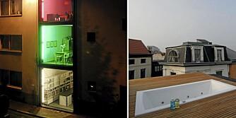 Arkitektene har bygget sitt eget hus på en 2,4 m bred tomt i Antwerpens tidligere prostitusjonsstrøk.