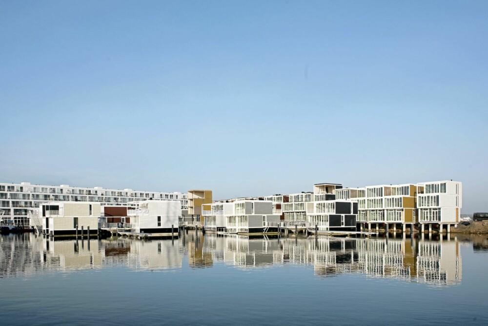 WATERWORLD: Konseptet betegnes som nyskapende og husbåtsammenligningen er nærliggende.
