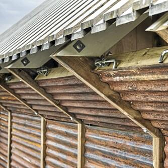 GROVT OG LEKKERT: Det ligger også mye skjønnhet i de funksjonelle detaljene i bygningen.