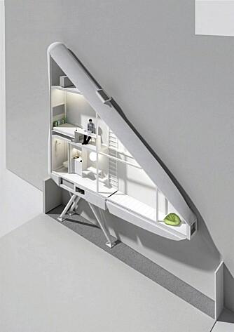 KOMPAKT: Slik har arkitektene hos Centrala tegnet verdens tynneste hus..