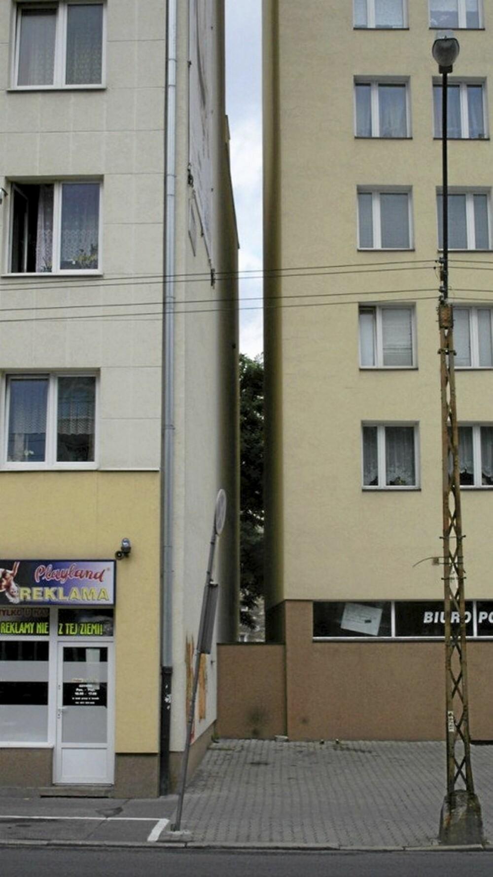 WOLA: I bydelen Wola skal det omtalte huset på plass mellom to andre byhus.