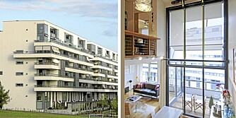 ARKITEKTPERLE: Blokkområdet Marienlyst Park ble i 2003 -2004 tildelt Sundts premie for fremragende arkitektur.