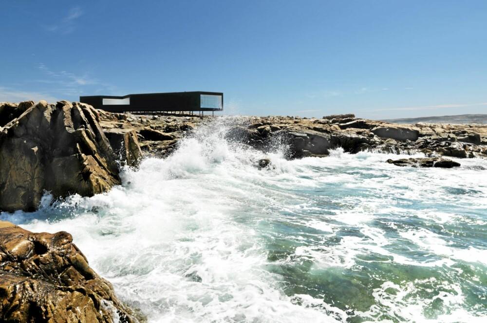 NOE FOR DE BARSKE: I dette området, Joe Batts Arm på Fogo Island kan du oppleve naturens råskap på nært hold. Her har du Atlanterhavet hele tiden tett på.