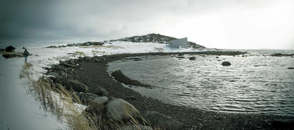 "NATUR OG HAV: Planlagte ""Short Studio"" ligger også med nær kontakt med vannet og kystlinjen."