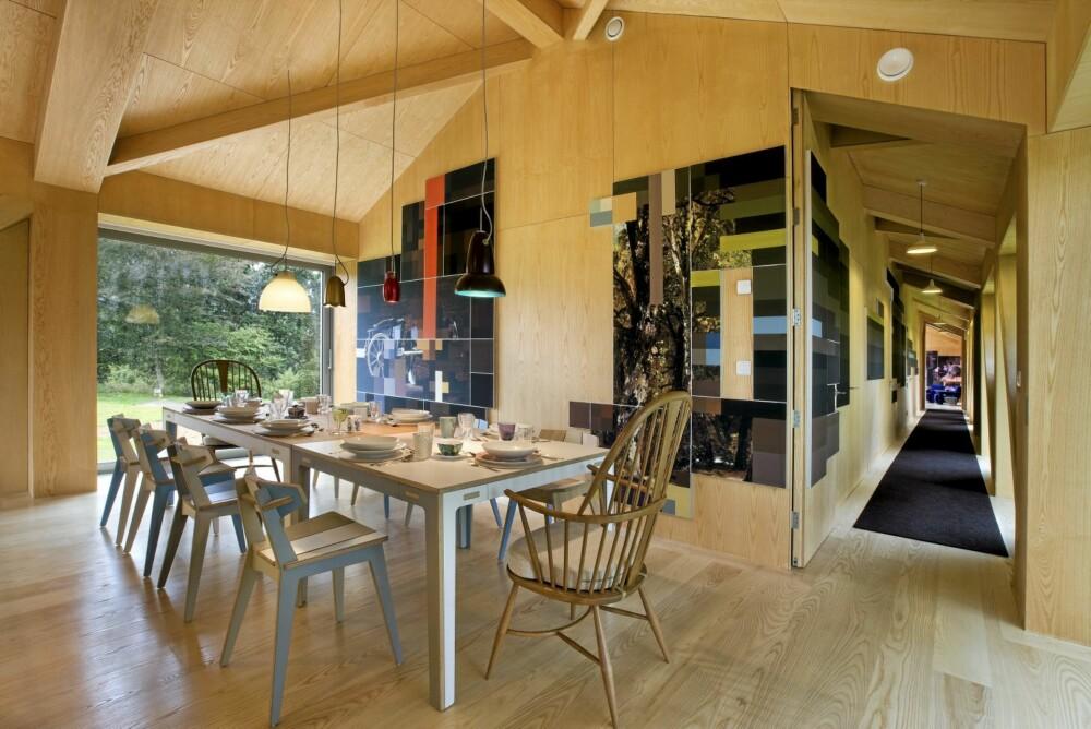 FLERE INVOLVERTE: Det er Studio Makkink & Bey som har stått for interiøret. Entreprenør har vært O Seamans og  landskapsarkitektene er The Landscape Partnership.
