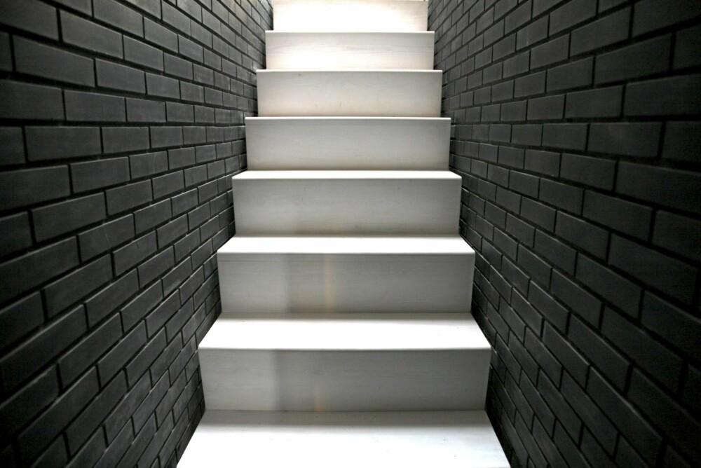 LYS OG MØRKE: Ifølge arkitektene dreier hele designen seg rundt spillet av lys og mørke; nøye kontrollert av intensitet og stille skygge