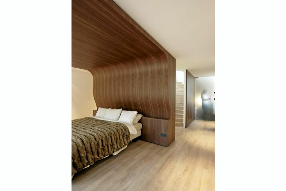 SOV SØTT: I en slik innebygget seng vil vel de fleste finne ro og få en god natts søvn?