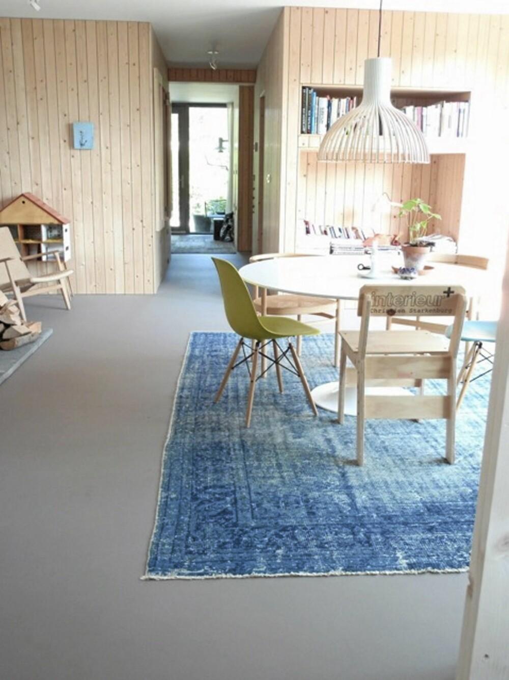SKANDINAVISK STIL: Rene linjer, naturmaterialer og nøktern inrredning kjennetegner en skandinavisk stil og boligen til Starkenburg