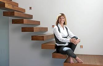 SAMSPILL: - Slike trappetyper kan ikke eksistere for seg selv, de må stå i forhold til moderne omgivelser, sier Tove Seberg.