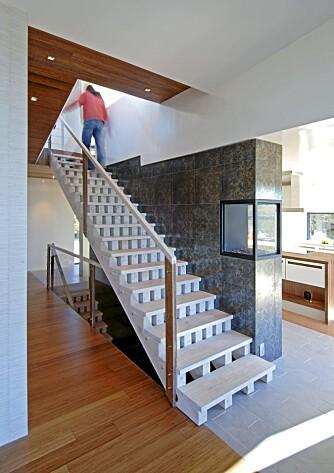 KULT: Arkitekt Atle Geving i Full Tank tro til med ny og kreativ trappedesign.