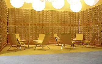 SVANEMERKET. Roscoe er designet av Steinar Hindemes og Frode Myhr, en lett hvilestol med polstrede seter.